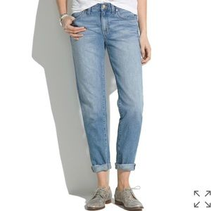 Madewell the boy jean afternoon wash